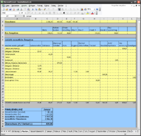 Haushaltsbuch kostenpflichtig kaufen